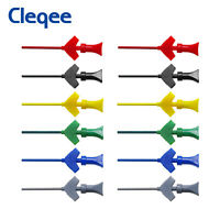 Mini Grabber SMD IC Test Hook Clip Jumper Probe for Logical Analyzer 6 Colors