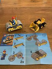LEGO City Construction Bundle 30003 & 5627 Road Roller & Mini Dozer (2008-9)