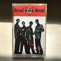 Soul for Real For Life Album Tape Audio Cassette Tape 90s R&B Tapes Smooth Jams