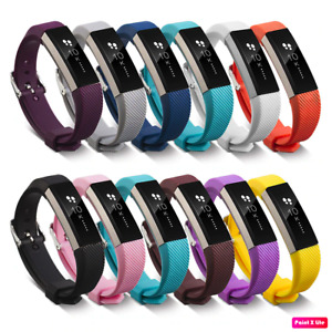 Fitbit Alta / HR / ACE Watch Strap Wristband Smartwatch Silicon Metal Buckle