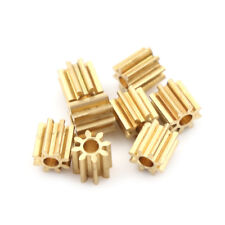 8 piezas accesorios de repuesto de engranajes de metal del motor accesoriosSC