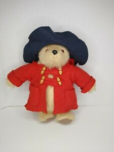 "Vintage PADDINGTON TEDDY BEAR 1981 Handmade By GABRIELLE DESIGNS 13"" ENGLAND."