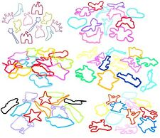 Zest 12 Silly Bandz Disney Character Silicone Bracelets Multi Coloured