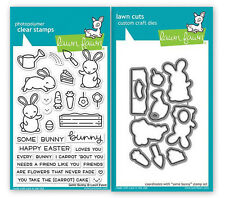 Some Bunny Easter Rabbit Lawn Fawn © Lawn Cuts Dies & Photopolymer Clear Stamps