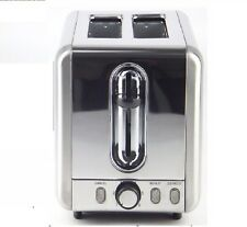 Toaster 2 slice wide slot for bagels and defrost Automatic, reheat option 12 MW