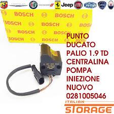 Punto Ducato Palio 1.9 Td ECU Pompe Injection Nouveau 0281005046 9946983