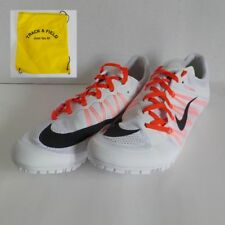 Nike Zoom JA FLY 2 Sprint Racing Shoes 705373 101 MEN 11.5 with Spikes & SR