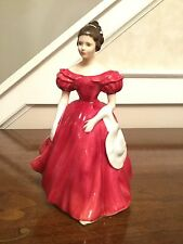 "ROYAL DOULTON ENGLISH BONE CHINA LADY FIGURINE STATUE ""WINSOME"" 1959 HN 2220"