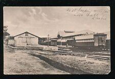 West Africa Ghana SEKONDI Railway Station & Offices Used 1911 PPC