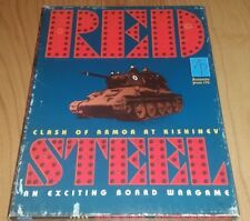 "WWII War Game: Red Steel ""Clash of Armour at Kishinev 1941"" Avalanche Press 1997"