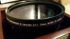 Crystal Vision High Definition Limited Edition 0.5X Wide w/ Macro 72mm COV Lens