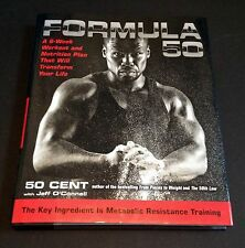 """50 CENT Signed Autographed """"Formula 50"""" Book, First Edition, Curtis Jackson"""