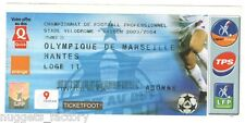 Billet  / Place  OM Olympique de Marseille - OM vs Nantes  ( 033  )