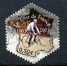 TIMBRE FRANCE OBLITERE N° 3582 SPORT / CYCLISME / Photo non contractuelle