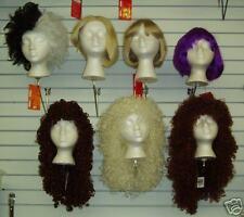 Blond China Doll Style Wig w/ Bangs, Short Bob!
