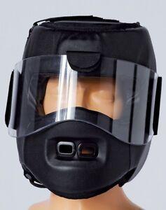 Move Guard Helm,Kwon bruchsichere Plexiglasscheibe. Selbstverteidigung, Ju Jutsu