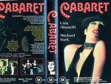 CABARET - Liza Minnelli - VHS - PAL -NEW - Never played! - Original Oz release