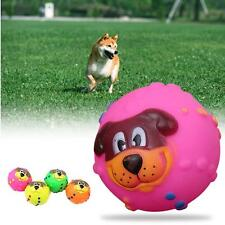 Squeaker Ball Toys Cute Training Ball Pet Dog Puppy Squeaky Chew Toy Supplies TQ