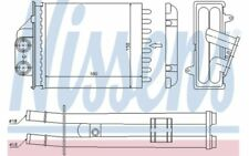 NISSENS Radiador de calefacción OPEL ASTRA FIAT PANDA AUDI A3 FORD KA 71453