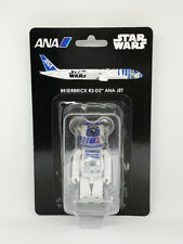 MEDICOM TOY STAR WARS BE@RBRICK R2-D2(TM) ANA JET 100% C3PO JAPAN Limited