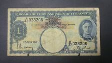 BOCOC King 1 Dollar 1941 R/48 038206 (Condition F)
