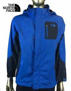 The North Face Hyvent Boys Windbreaker Hooded Jacket Red  Full Zip Medium 10 12