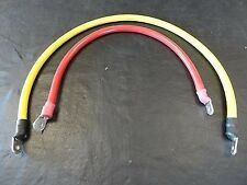 BH ELECTRONICS BATTERY JUMPER CABLES QUAD RED / YELLOW HS16132134 MARINE BOAT