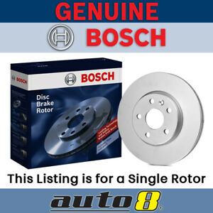 Brand New Bosch Front Brake Disc Rotor for Ford Maverick 4.2L TB42 1988 - 1993