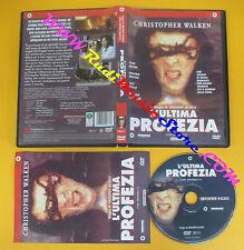 DVD film L'ULTIMA PROFEZIA Christopher Walken Gregory Widen 2004 no vhs (D7)