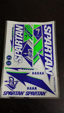 SPARTAN LIMITED EDITION CRICKET BAT STICKERS BUY ONE GET ONE SAME STICKER FREE
