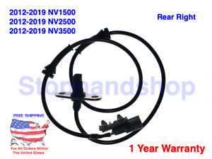 New ABS Wheel Anti Ski Speed Sensor for Nissan NV1500 NV2500 NV3500 Rear Right