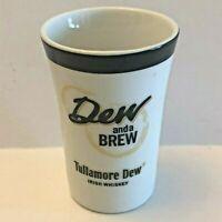 Dew And A Brew Tullamore Dew Irish Whisky Shot Glass Shotglass