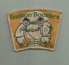 1960's HUDSON BOOSTERS CLUB BASEBALL TEAM PLAYERS COACH WI WISCONSIN PATCH