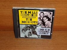 THE MILLS BROTHERS - THE INK SPOTS -  THE BOSWELL SISTERS : CD Album : SMS 15