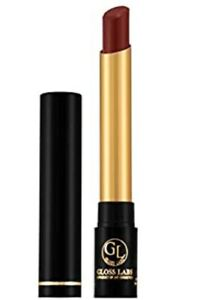 GlossLabs non transfer lipstick, Matt finish, waterproof, caffe brown, Vegan