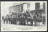 Yorkshire Postcard - The Sportsman Hotel, Hedon Road, Hull, 1911 - T3196