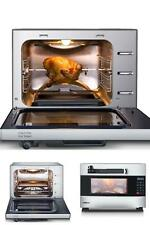 Programmable Pressure Oven w/ Rotisserie Electric 1600-W Stainless Steel 27 Qt