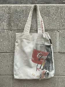 Andy Warhol Campbell's Tomato Soup Tote Bag