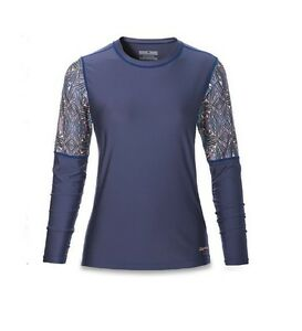 DAKINE - WOMEN'S FLOW LOOSE FIT L/S - FURROW - Talla/Size M - CAMISETA SURF