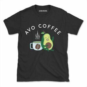 Avo Coffee Tshirt Funny Avocado Pun Cuddle Womens Mens