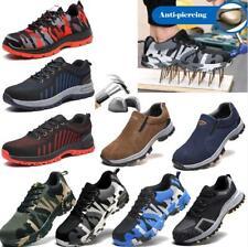 HOT Men's Indestructible Work Safety Shoes Steel Toe Bulletproof Boots Sneakers