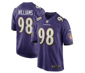 Brandon Williams #98 Baltimore Ravens Nike Youth Game Jersey - Purple