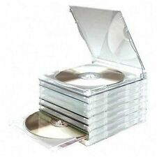 JOBLOT 200 COMPUCESSORY 95501 Interlocking CD DVD Jewl Cases with slide out Plateau