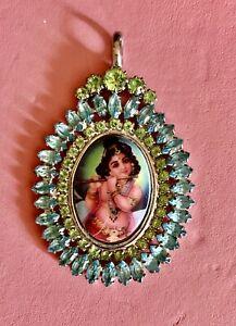 Tarina Tarantino Hindu God Charm Necklace