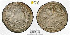 1492-1506 Lithuania 1/2 Groschen PCGS AU58