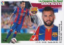 05 DANI ALVES  BRAZIL FC.BARCELONA STICKER LIGA 2016 PANINI