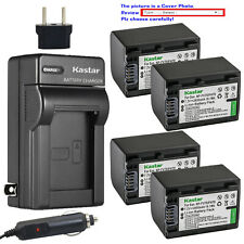 Kastar Battery AC Charger for Sony NP-FV70 & Sony DCR-SX15 DCR-SX20 DCR-SX21