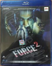 FORCE 2 (2016) JOHN ABRAHAM, SONAKSHI SINHA - BOLLYWOOD BLU-RAY