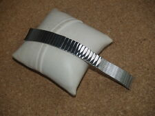 INTERESTING VINTAGE 18mm STELUX 1970s EXPANDING STAINLESS STEEL WATCH STRAP