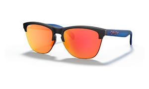 Oakley FROGSKINS LITE Sunglasses OO9374-2763 Matte Black Ink W/ PRIZM Ruby Lens